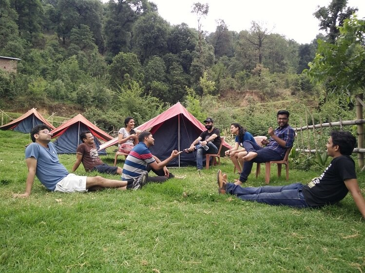 2 nights and 3 days camping and paragliding tour in Bir Billing