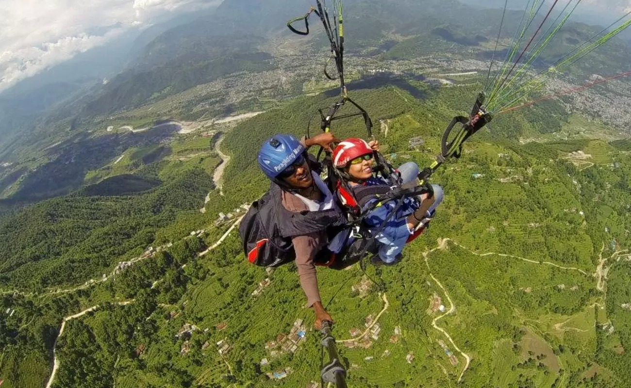 Paragliding and Camping in Bir Billing (1N2D)